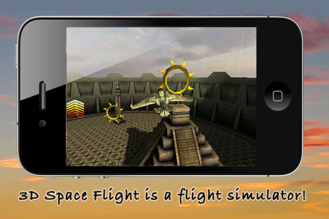 Screenshot 3D Space Flight