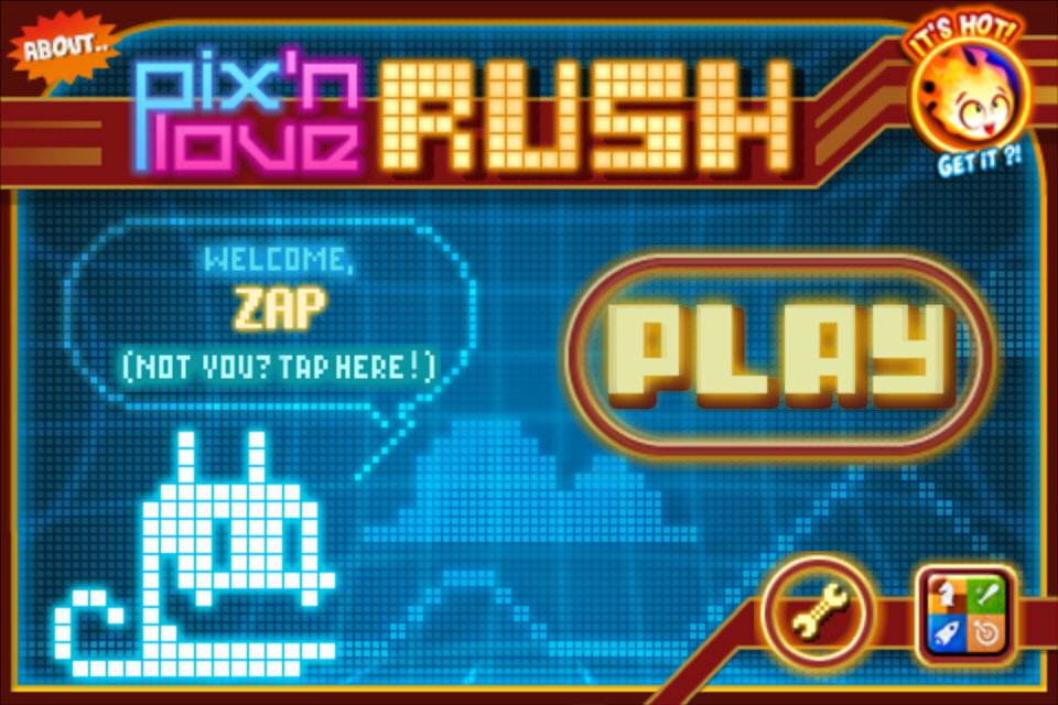 Screenshot Pix'n Love Rush